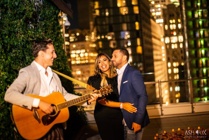 Wedding Proposal Ideas in NYC Rooftop