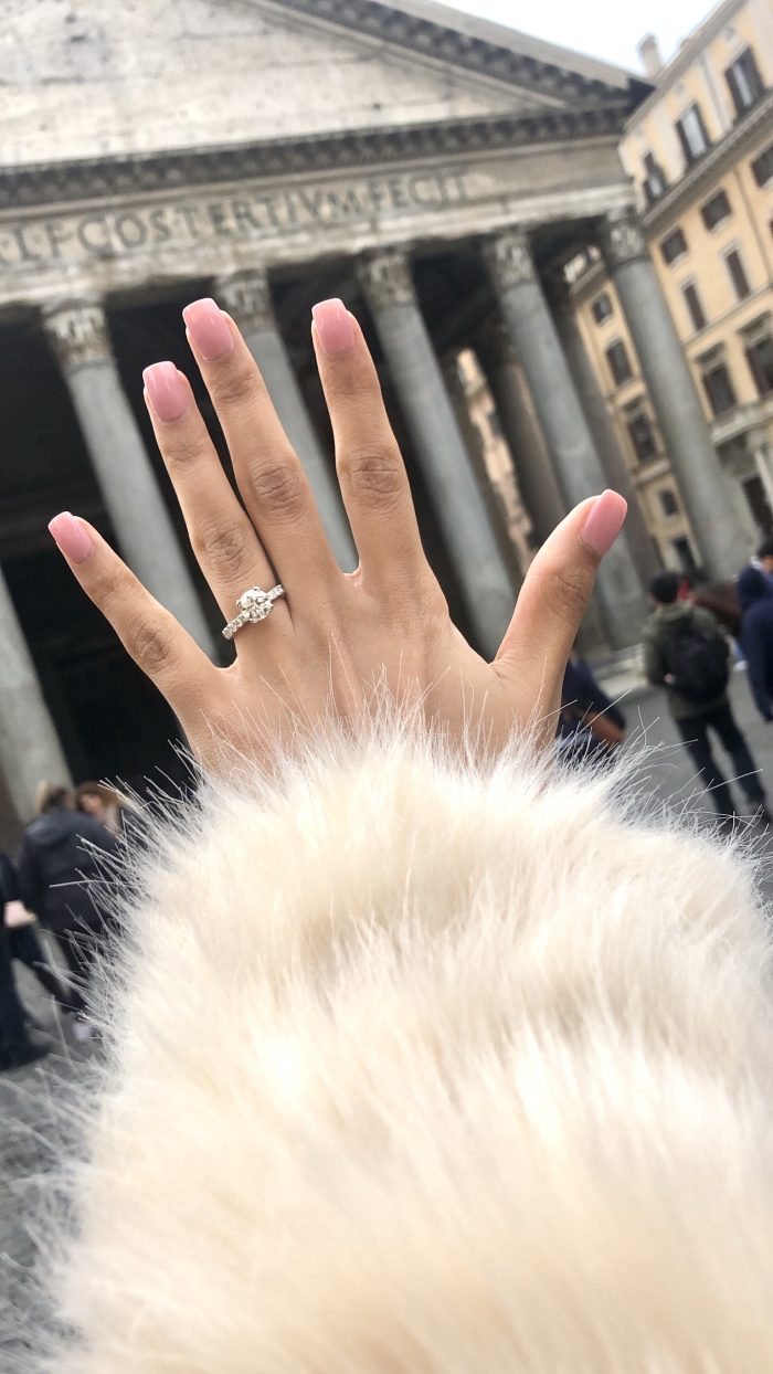 Marriage Proposal Ideas in Rome, Italy Trevi Fountain