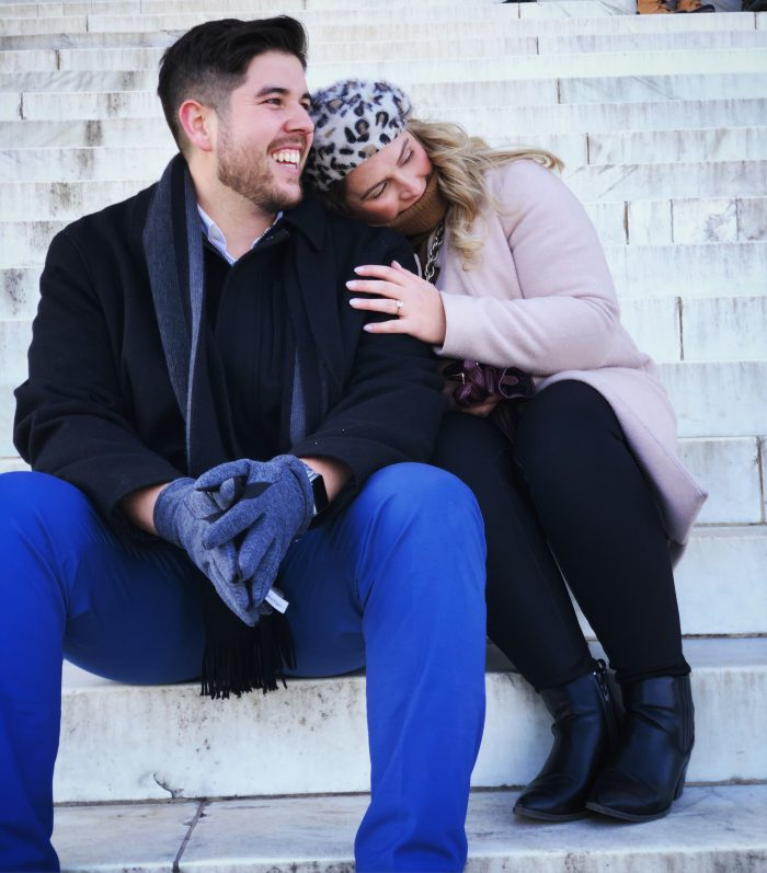 Wedding Proposal Ideas in Lincoln Memorial