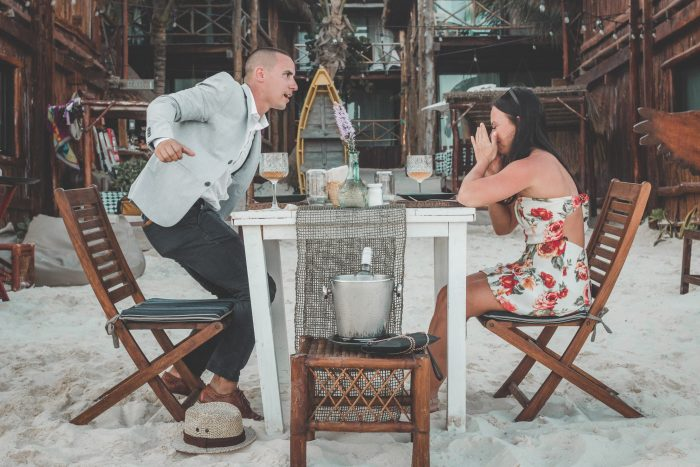 Marriage Proposal Ideas in Tulum, Mexico