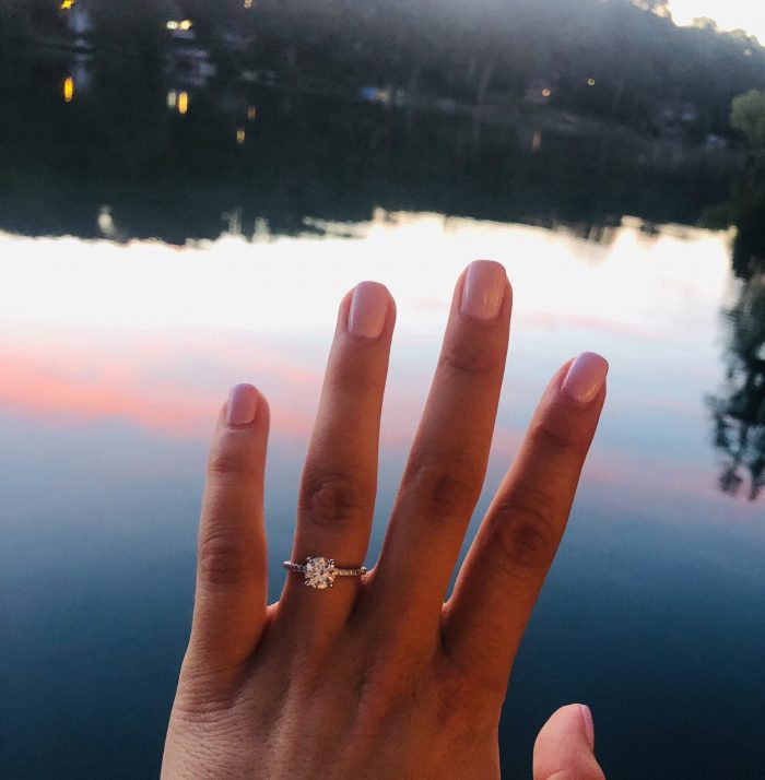 Lyndsay's Proposal in Grandparent's Boathouse