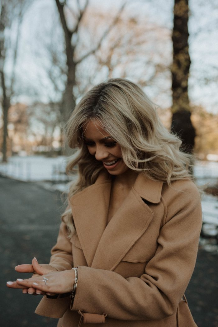 Laura's Proposal in Central Park, New York