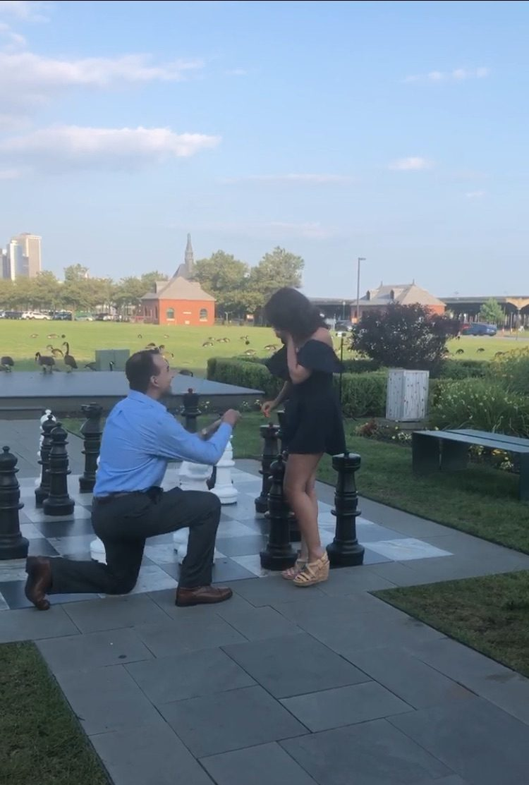 Marriage Proposal Ideas in The liberty house