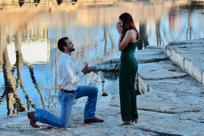 Marriage Proposal Ideas in San Marcos River where I had gotten baptized