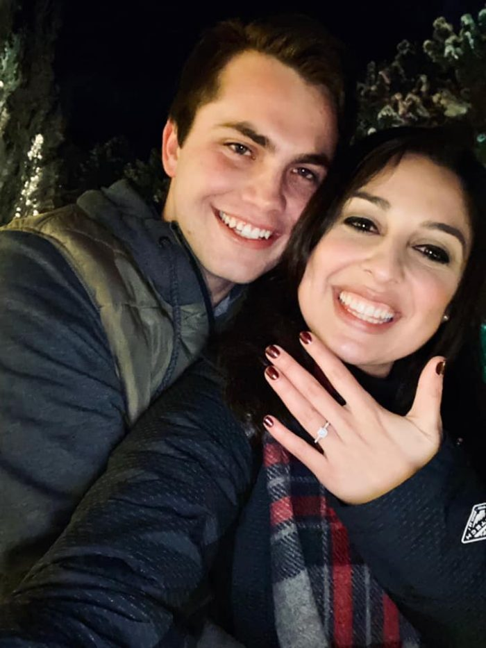 Ashley's Proposal in Luminaria-Thanksgiving Point in Utah