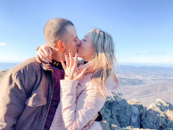 Wedding Proposal Ideas in Shenandoah National Park