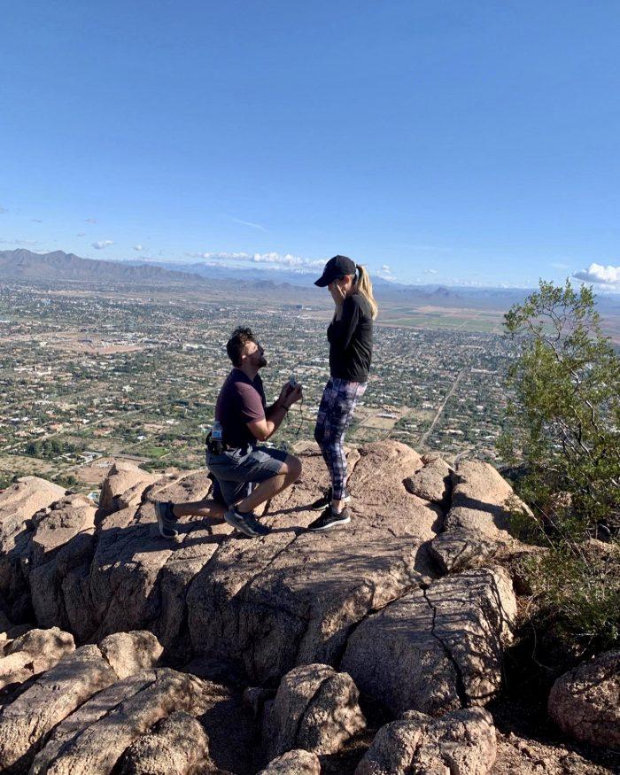 Engagement Proposal Ideas in Camelback Mountain, AZ