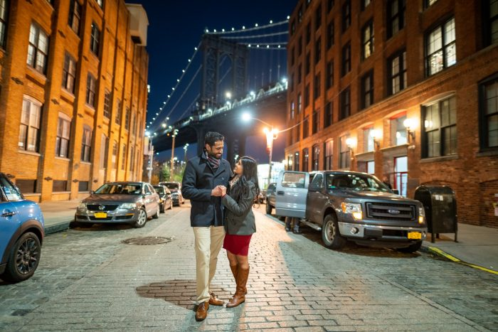 Silvina's Proposal in Dumbo, Brooklyn