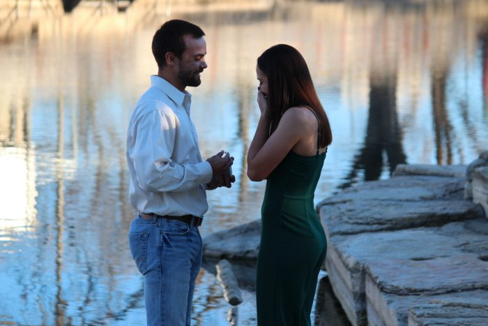 Engagement Proposal Ideas in San Marcos River where I had gotten baptized