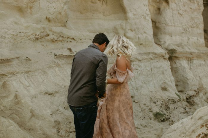 Proposal Ideas San Clemente Beach, but back in the rock caves