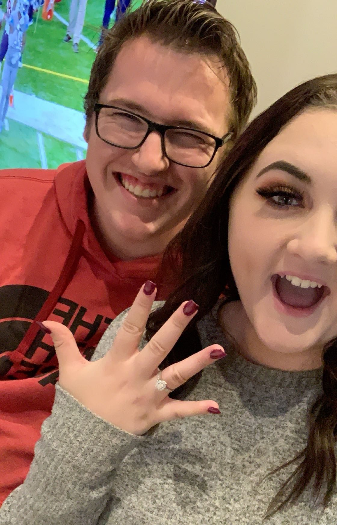 Engagement Proposal Ideas in His parents house