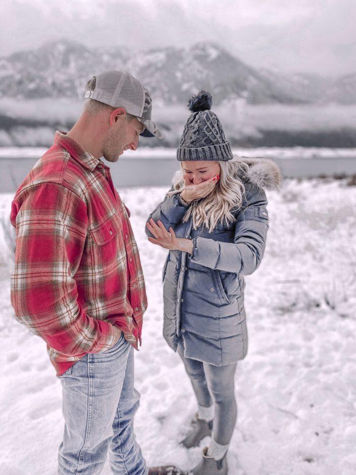 Catharina and Jake's Engagement in Cle Elum Washington State