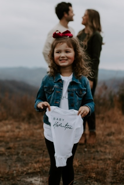 Where to Propose in During our baby announcement pictures