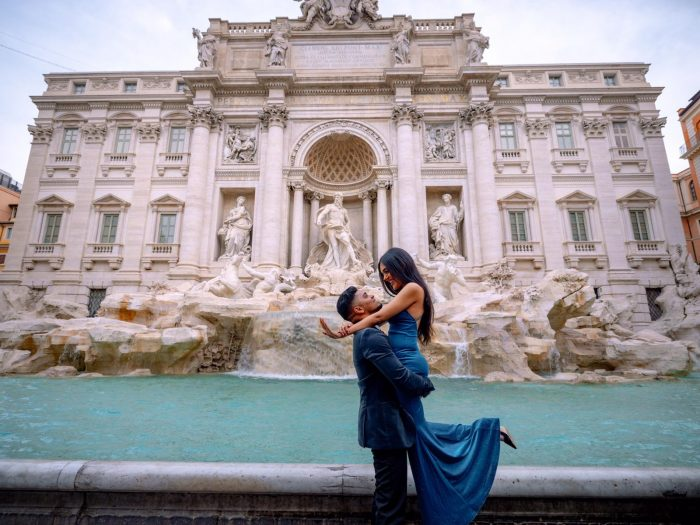 Where to Propose in Rome, Italy Trevi Fountain