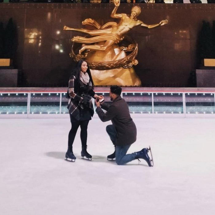 Wedding Proposal Ideas in Rockefeller Center