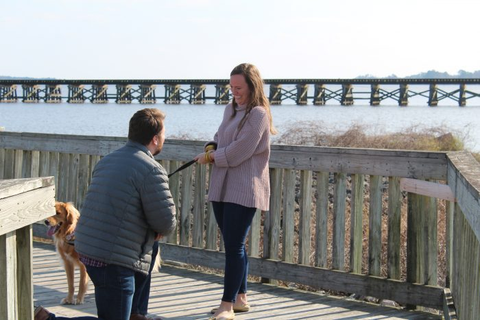 Samantha's Proposal in Washington, North Carolina