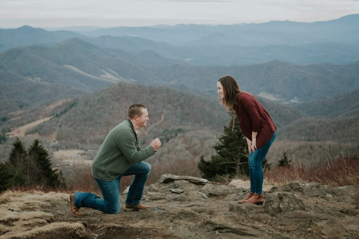 Engagement Proposal Ideas in Roan Mountain, Tennessee