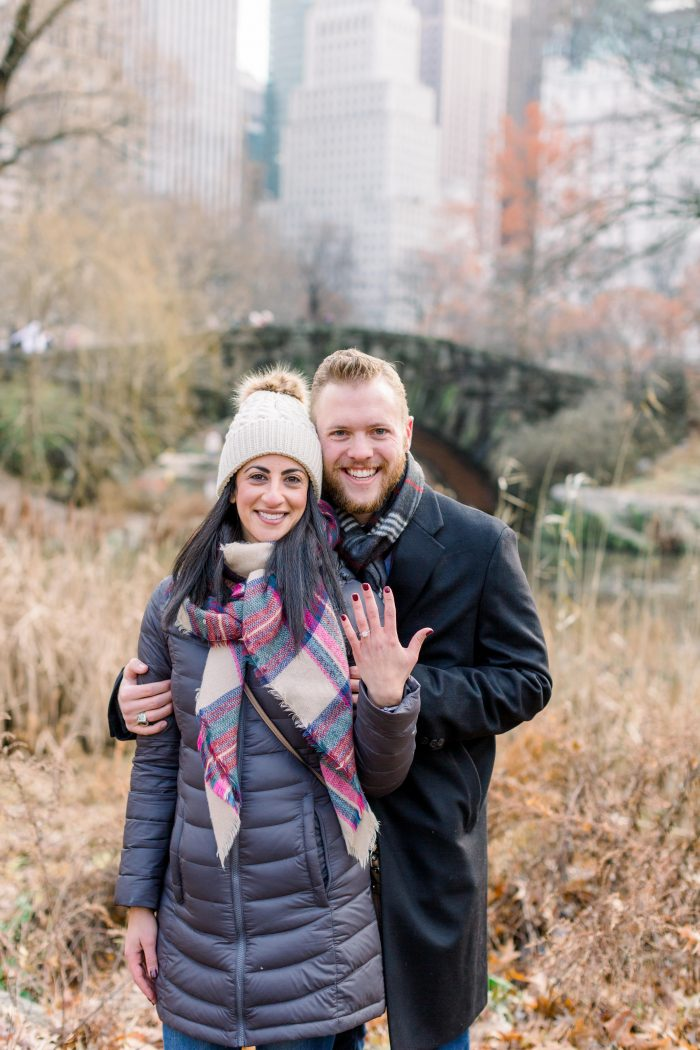 Erica and Ethan's Engagement in Central Park, New York