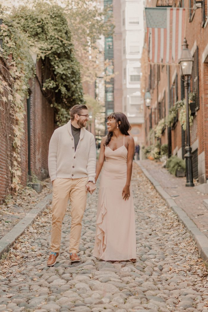 TerryAnn's Proposal in Acorn Street, Boston, MA
