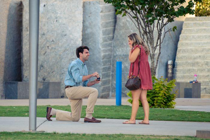 Engagement Proposal Ideas in Romare Bearden Park