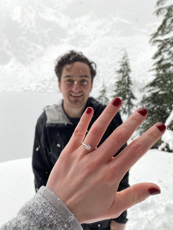 Kayla's Proposal in Lake Serene
