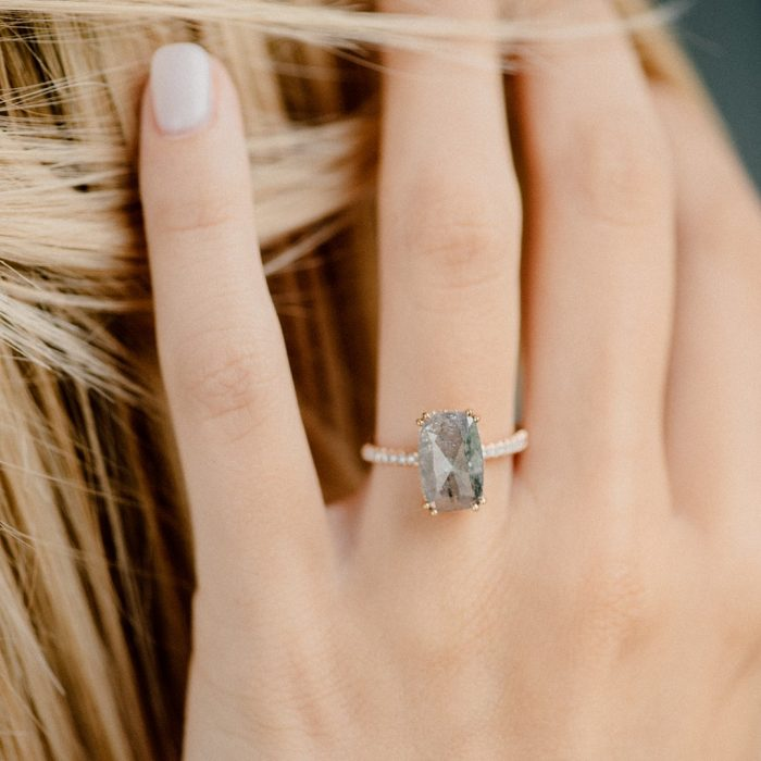 12 Jaw Dropping Black Diamond Engagement Rings How They Asked