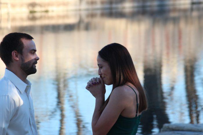 Wedding Proposal Ideas in San Marcos River where I had gotten baptized