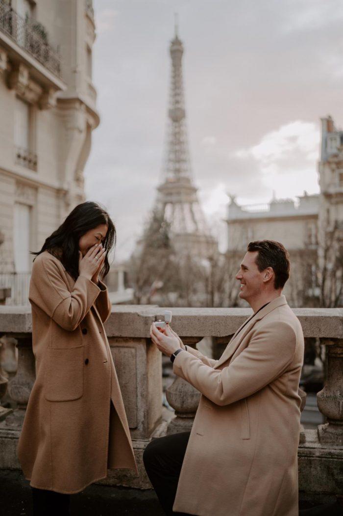 Marriage Proposal Ideas in Eiffel Tower in Paris