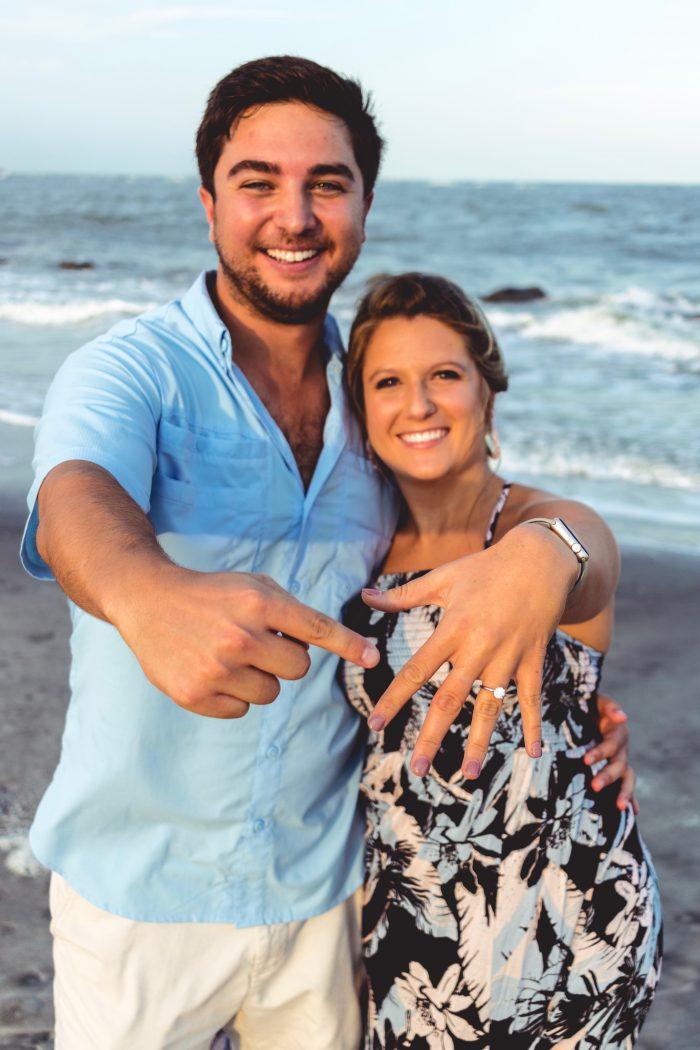 Where to Propose in Folly Beach, South Carolina