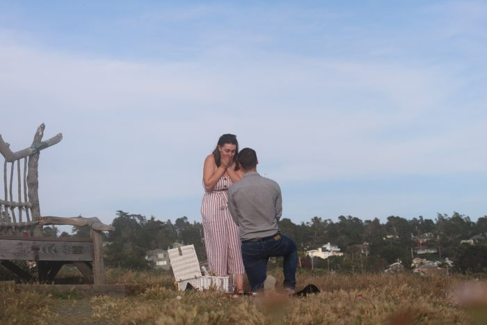 Jordan's Proposal in Cambria, CA
