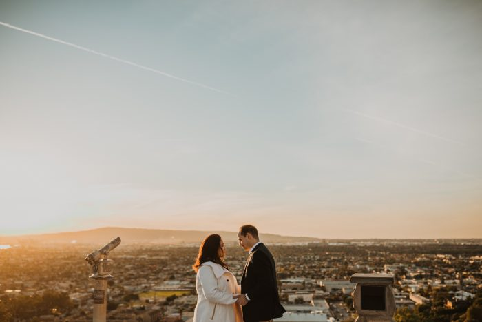 Natalie's Proposal in Hilltop Park, Signal Hill