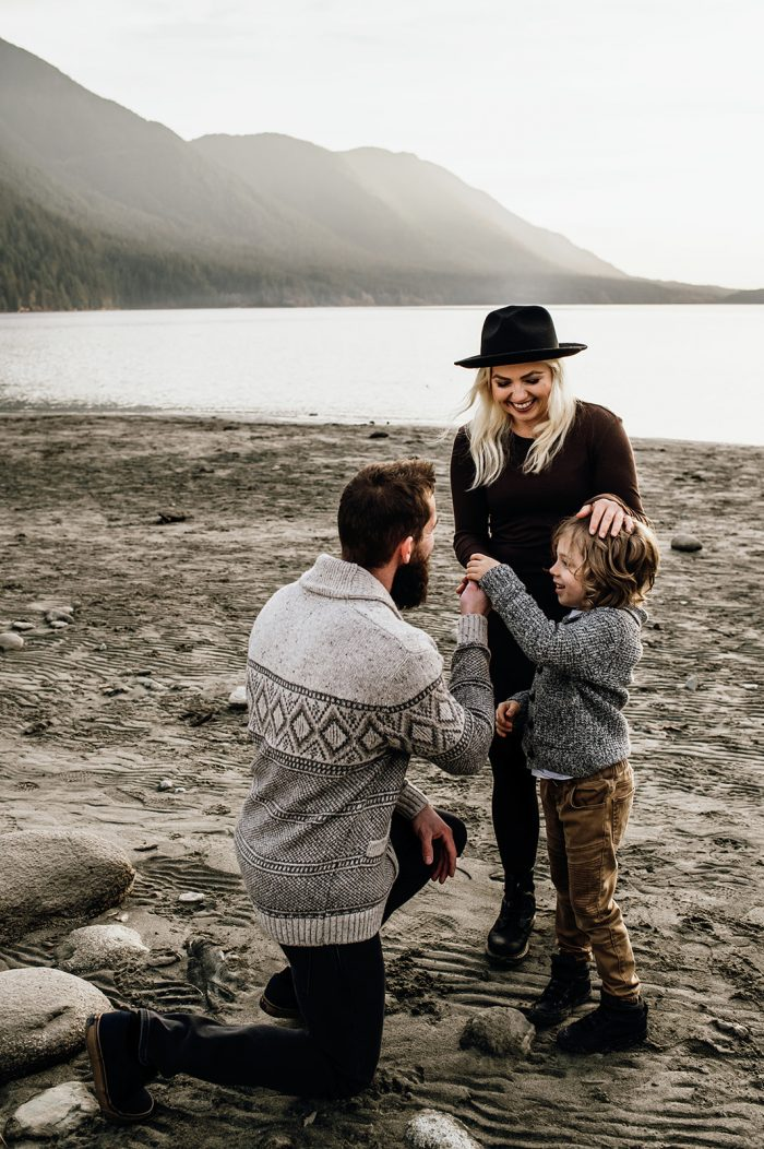 Wedding Proposal Ideas in Golden Ears Provincial Park, Maple Ridge BC