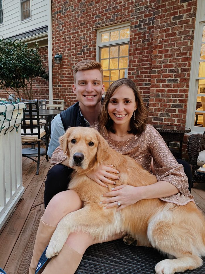 Beatriz and Matthew's Engagement in Fearrington Village near Chapel Hill, North Carolina
