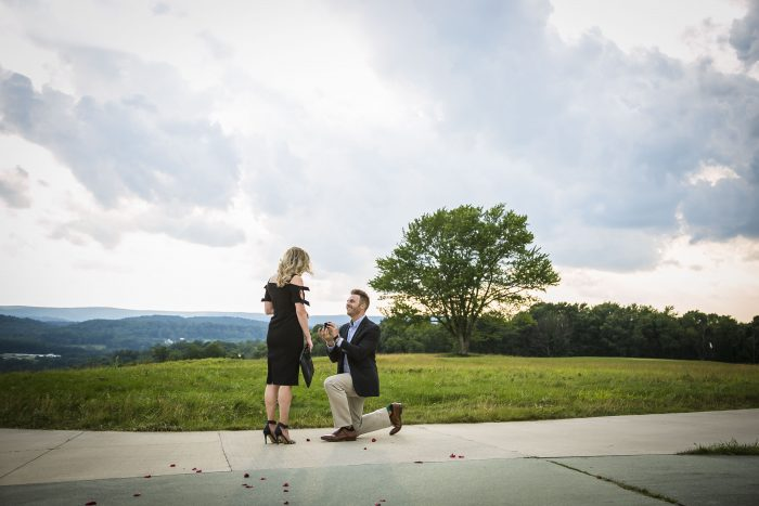 Jessica and Chris's Engagement in Nemacolin, PA