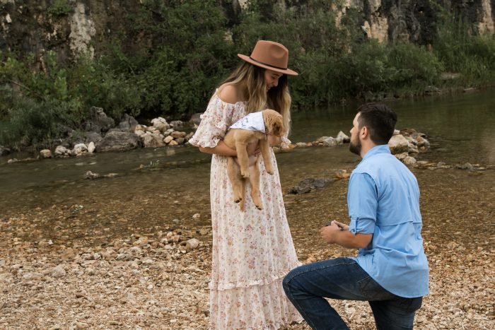 Wedding Proposal Ideas in Echo Bluff State Park