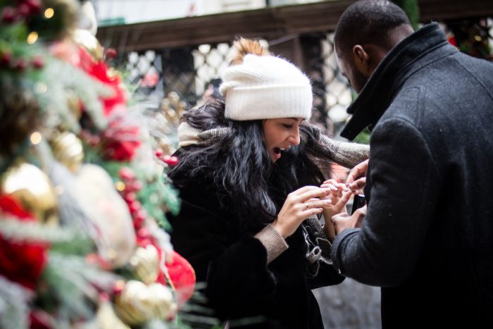 JEANINE's Proposal in Lotte New York Palace