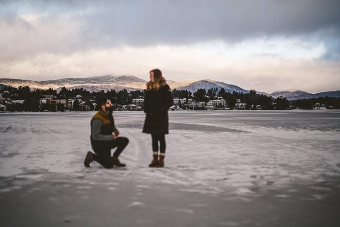 Jamie and William's Engagement in Lake Placid, NY