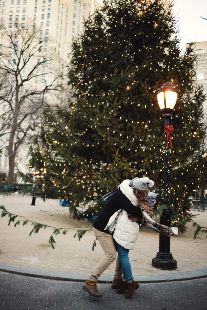 Kerri and Jonathan's Engagement in Madison square garden New York