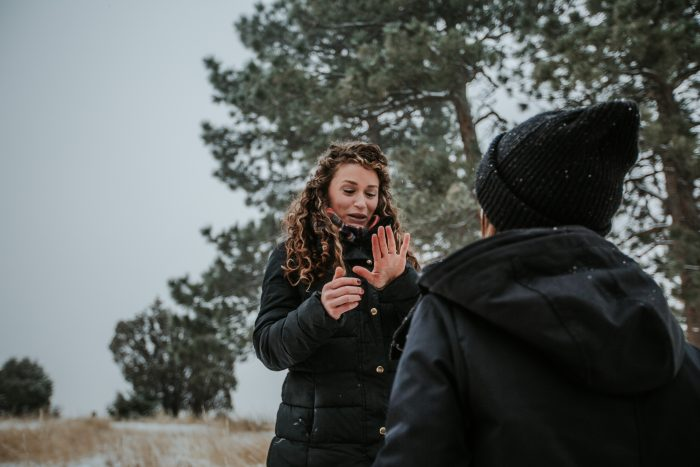 Proposal Ideas In the mountains in Boulder, Colorado