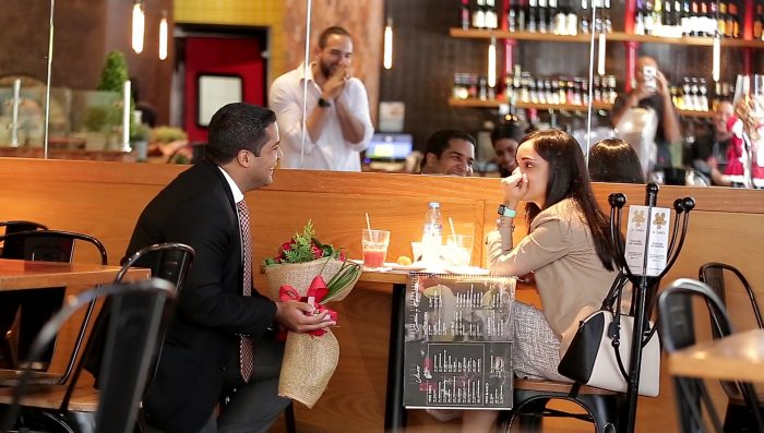 Ryan's Proposal in At a Restaurant Forno Bravo in Dominican Republic