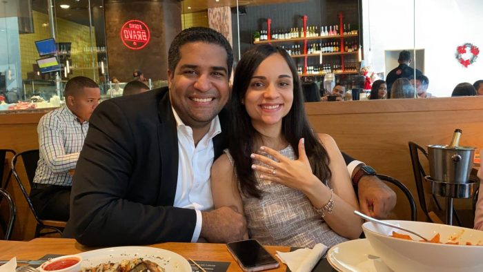 Ryan and Daniela's Engagement in At a Restaurant Forno Bravo in Dominican Republic