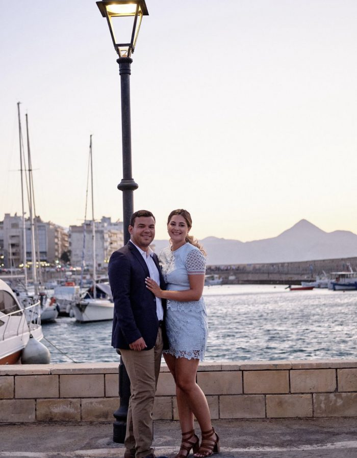 Kally and Josue's Engagement in Crete, Greece