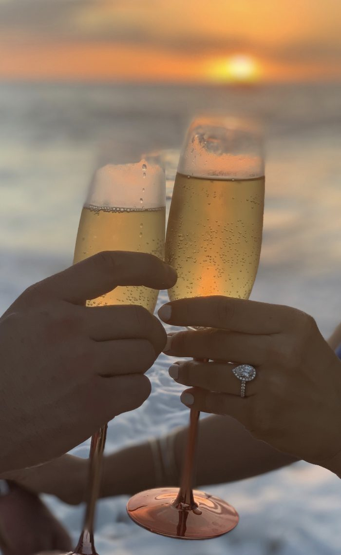 Chelsey's Proposal in Mākua Beach, Oahu