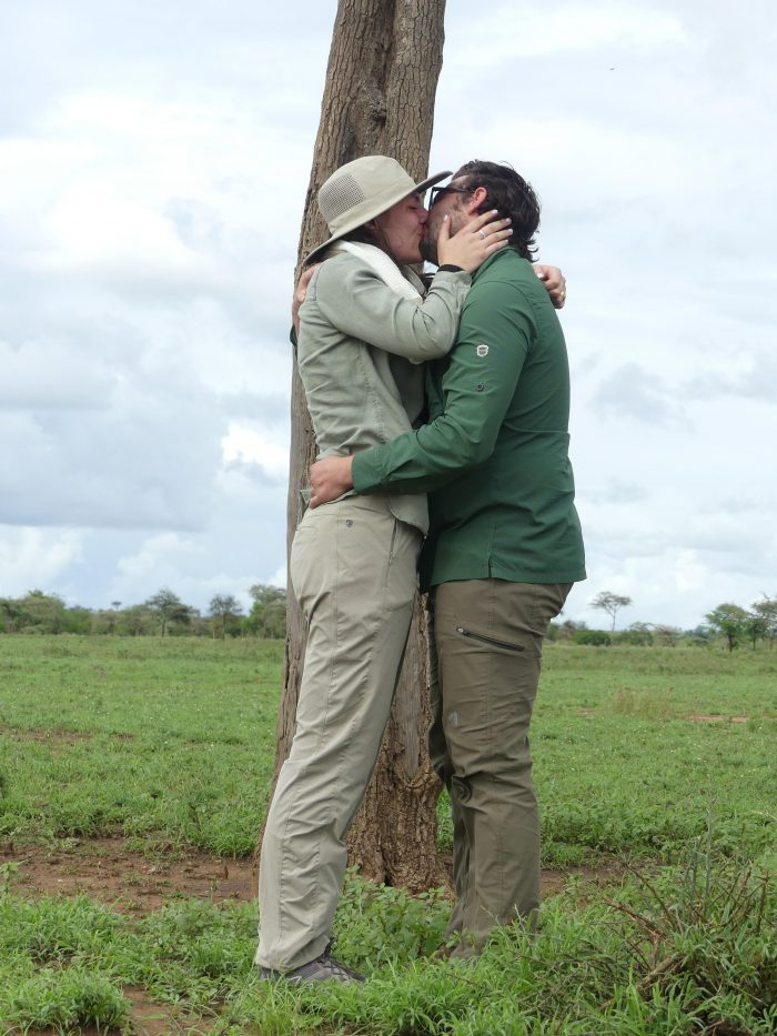 Jenessa and Philip's Engagement in Serengeti National Park in Tanzania