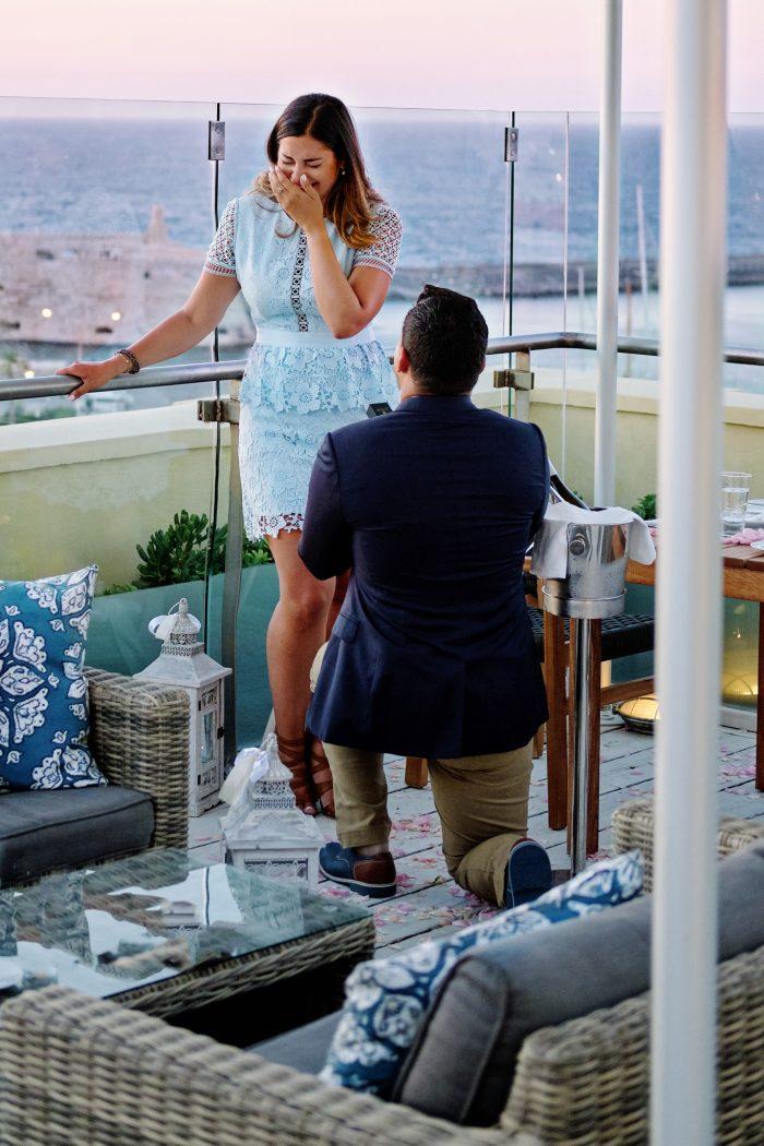 Engagement Proposal Ideas in Crete, Greece