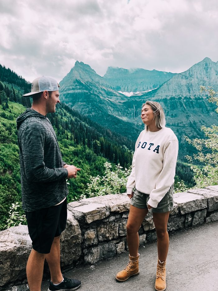 Wedding Proposal Ideas in Glacier National Park