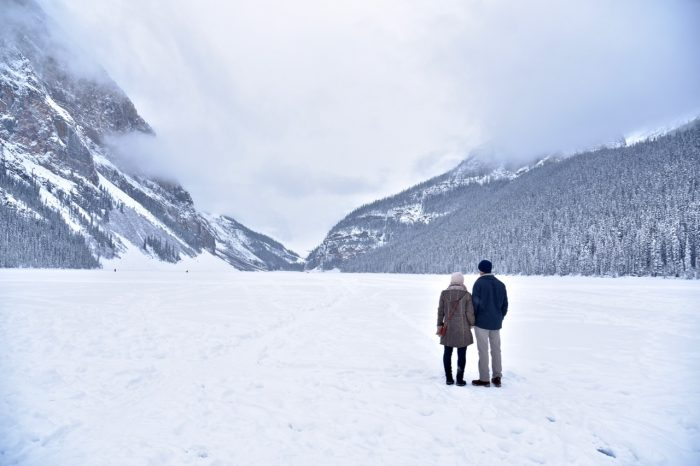 Engagement Proposal Ideas in Lake Louise, Alberta, Canada