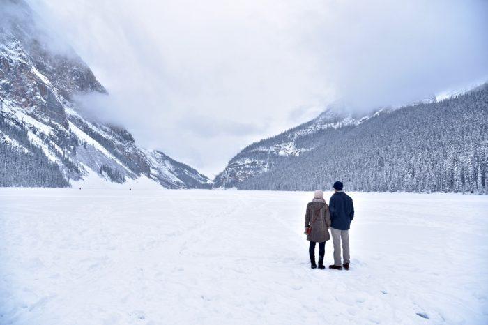 Engagement Proposal Ideas in Lake Louise, Alberta, Canada
