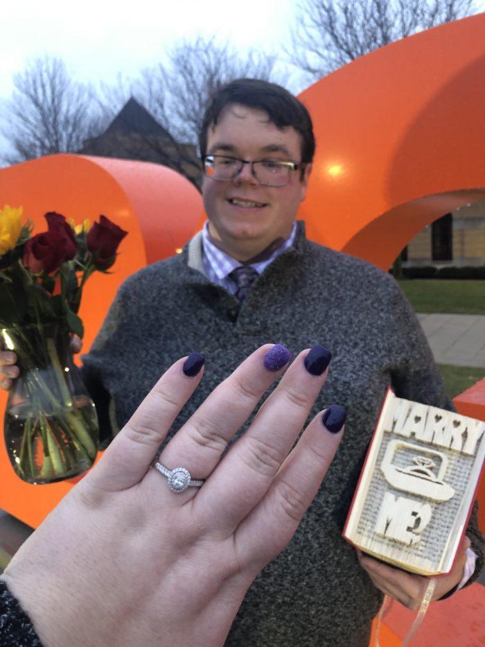 Marriage Proposal Ideas in BGSU College Campus