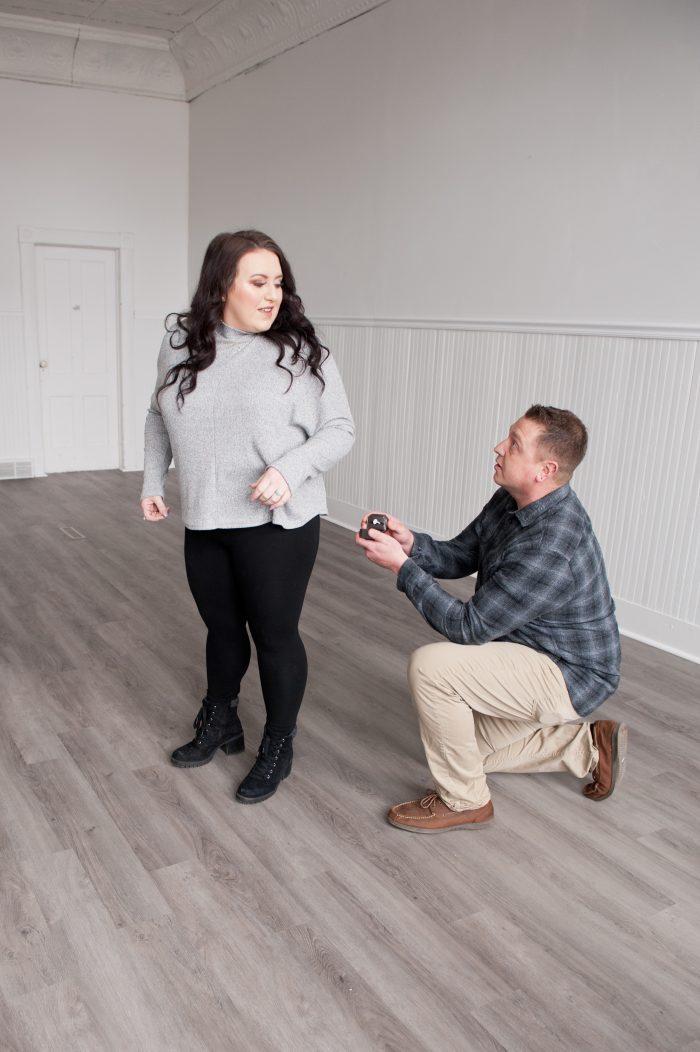 Aubrey and Zack's Engagement in Elko, Minnesota